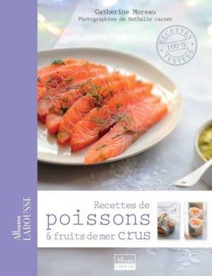 Recettes de poissons et fruits de mer crus - Larousse - 9782035874917 -