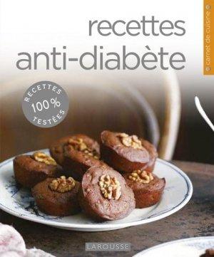 Recettes anti-diabète - larousse - 9782035880550 -