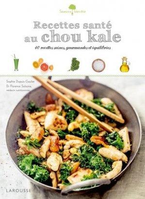 Recettes santé au chou kale - larousse - 9782035880635 -