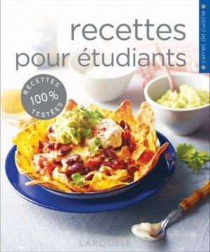 Recettes pour étudiants - Larousse - 9782035890269 - majbook ème édition, majbook 1ère édition, livre ecn major, livre ecn, fiche ecn