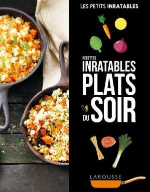 Recettes inratables plats du soir - Larousse - 9782035930347 -