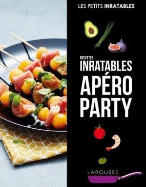 Recettes inratables apéro party - Larousse - 9782035934314 -