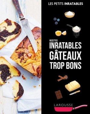 Recettes inratables gâteaux trop bons - Larousse - 9782035945044 -