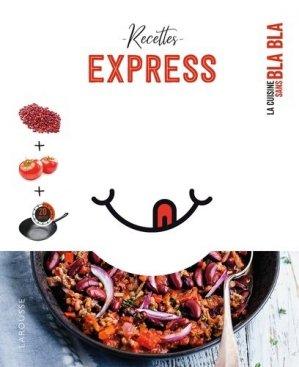 Recettes express - Larousse - 9782035967404 -