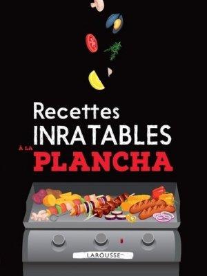 Recettes inratables à la plancha - larousse - 9782035969545 -