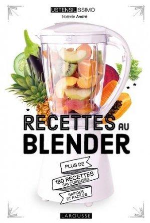 Recettes au blender - Larousse - 9782035969682 -