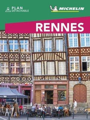 Rennes. Edition 2020. Avec 1 Plan détachable - Michelin Editions des Voyages - 9782067245198 -