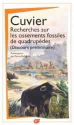Recherches sur les ossements fossiles de quadrupèdes-flammarion-9782081311466