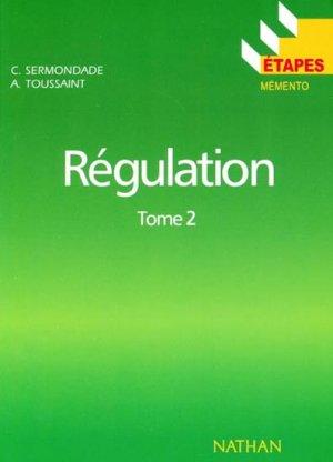 Régulation Tome 2 - nathan - 9782091777436 -