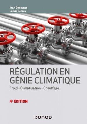 Régulation en génie climatique - dunod - 9782100809233 -