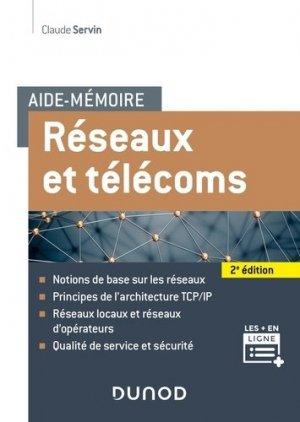 Réseaux et télécoms - dunod - 9782100809417 -