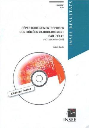 Répertoire des entreprises contrôlées majoritairement par l'Etat - INSEE - 9782110682987 -