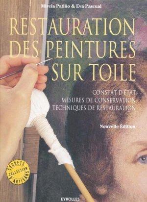 Restauration des peintures sur toile - eyrolles - 9782212132915 -