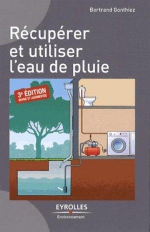 Récupérer et utiliser l'eau de pluie - eyrolles - 9782212136579 -