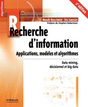 Recherche d'information - eyrolles - 9782212673760 -