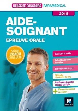 Réussite Concours - Aide-Soignant - foucher - 9782216148134 -
