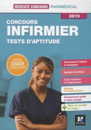 Réussite Concours - IFSI Tests d'aptitude - Concours d'entrée 2019 - foucher - 9782216149605 -