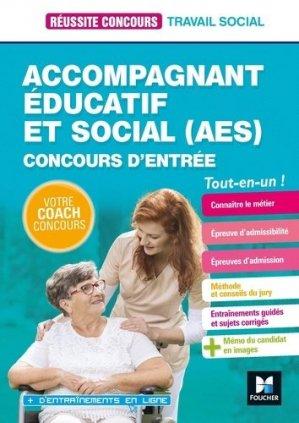 Réussite Concours - Accompagnant éducatif et social AES - 2020-2021 - foucher - 9782216154845 -