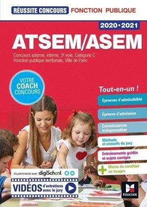 Réussite Concours ATSEM/ASEM 2020-2021 - foucher - 9782216158249 -