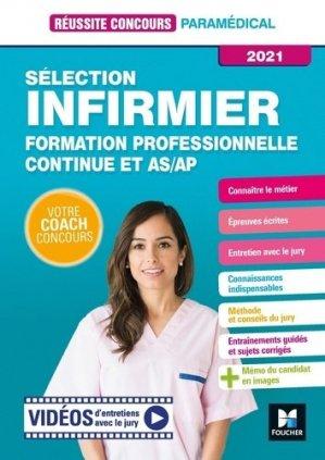Réussir son entrée en IFSI. Formation professionnelle Continue et AS/AP - Préparation - Foucher - 9782216158294 -