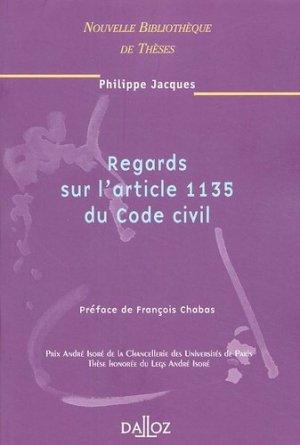 Regards sur l'article 1135 du Code civil - dalloz - 9782247060498 -