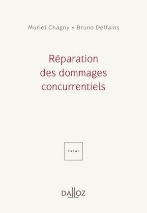 Réparation des dommages concurrentiels - dalloz - 9782247156375 -