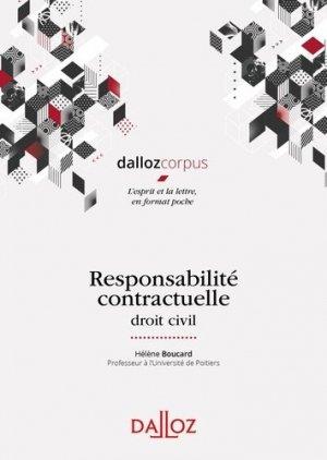 Responsabilité contractuelle. Droit civil - dalloz - 9782247192243 -