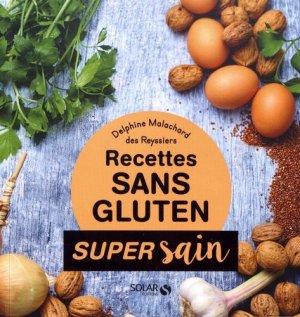 Recettes sans gluten - solar  - 9782263156359 -