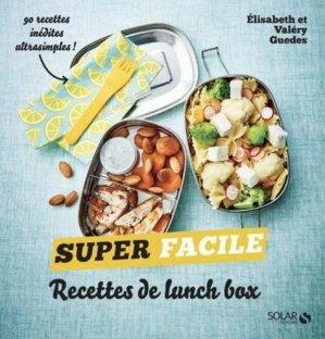 Recettes de lunch box - Solar - 9782263169502 -
