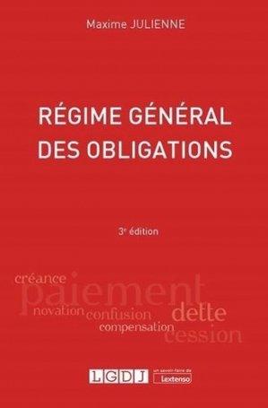 Régime général des obligations - LGDJ - 9782275075921 -