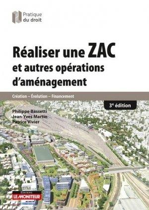 Réaliser une ZAC et autres opérations d'aménagement - le moniteur - 9782281130898 -