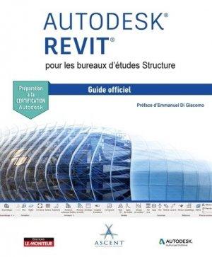 Revit Structure - Guide officiel - le moniteur - 9782281142730 -