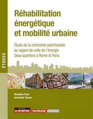 Réhabilitation énergétique et mobilité urbaine - groupe moniteur - 9782281143164 -