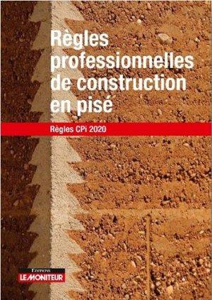Règles professionnelles de construction en pisé - le moniteur - 9782281143805 -