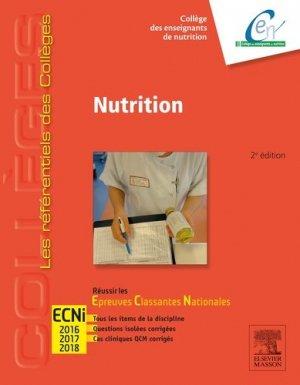 Référentiel Collège de Nutrition - elsevier / masson - 9782294737268 -