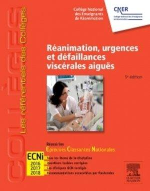 Réanimation, urgences et défaillances viscérales aiguës - elsevier / masson - 9782294742378 -
