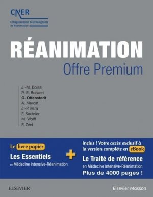 Réanimation - elsevier / masson - 9782294743092 -