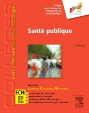 Référentiel Collège de Santé publique - elsevier / masson - 9782294743696 -