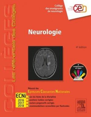 Référentiel Collège Neurologie - elsevier / masson - 9782294743863 -