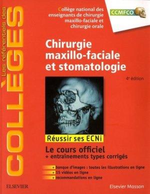 Référentiel Collège de Chirurgie maxillo-faciale et stomatologie - elsevier / masson - 9782294751097 -