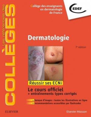 Référentiel Collège de Dermatologie - elsevier / masson - 9782294751103 - livre médecine 2020, livres médicaux 2021, livres médicaux 2020, livre de médecine 2021