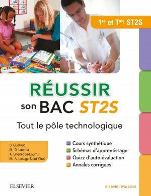 Réussir son Bac ST2S - elsevier / masson - 9782294751301