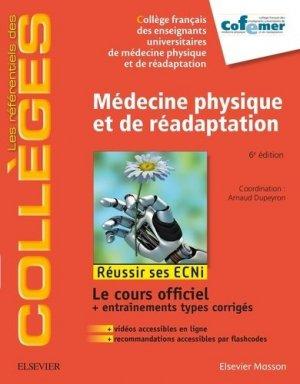 Référentiel Collège de Médecine physique et de réadaptation - elsevier / masson - 9782294755972 -