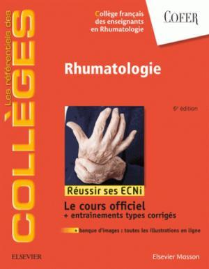 Référentiel Collège de Rhumatologie COFER - elsevier / masson - 9782294760105 -