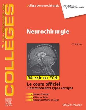 Référentiel Collège de Neurochirurgie - elsevier / masson - 9782294760327 - livre médecine 2020, livres médicaux 2021, livres médicaux 2020, livre de médecine 2021