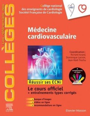 Référentiel Collège de Médecine cardiovasculaire - elsevier / masson - 9782294763328 -