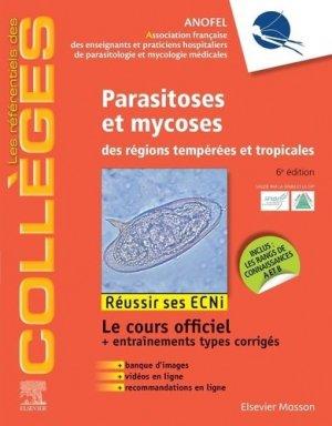 Référentiel Collège de Parasitoses et mycoses - elsevier / masson - 9782294764288 -