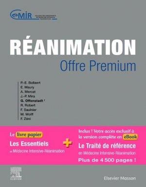 Réanimation Offre premium - elsevier / masson - 9782294764981 -