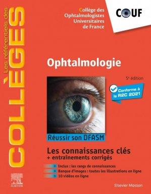 Référentiel Collège d'Ophtalmologie - elsevier / masson - 9782294765810 -