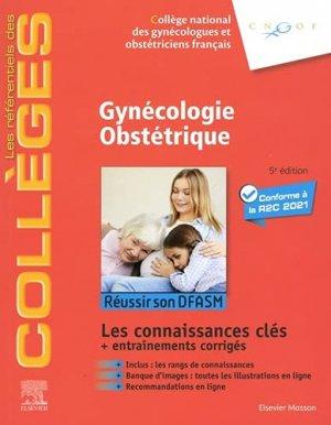 Référentiel Collège de Gynécologie Obstétrique - elsevier / masson - 9782294769726 -